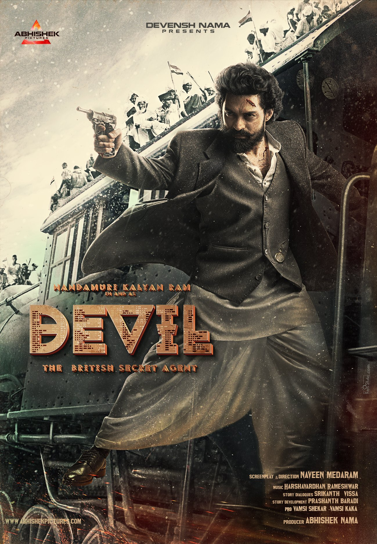 Kalyan Ram as a Devil first look poster out now