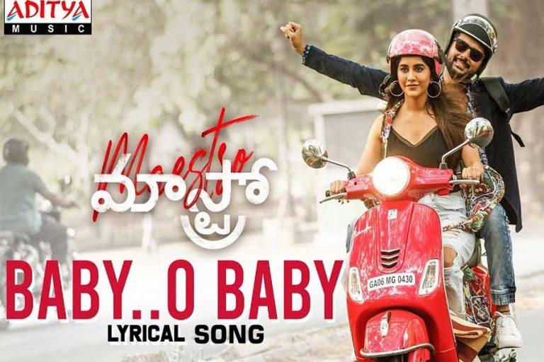 Maestro Melody Baby O Baby Song Lyrical Video