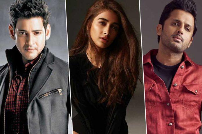 Pooja hegde to romance with Nithin and Mahesh next movies