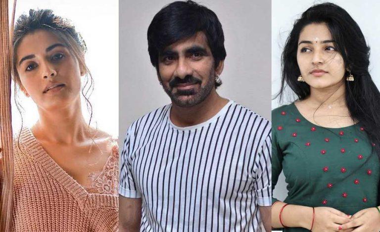 Rajisha Vijayan and Divyansha Kaushik on Board for Ravi Teja