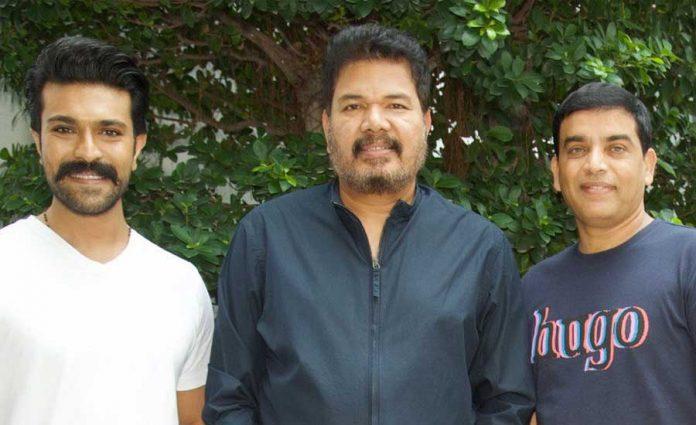 Ram Charan meets Shankar in Chennai, regarding RC15 shooting