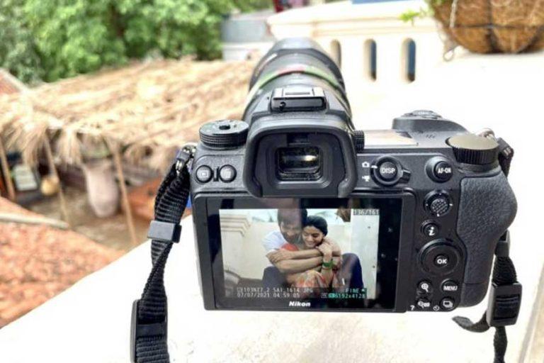 Ravi Teja shoots a romantic scene for #RT68