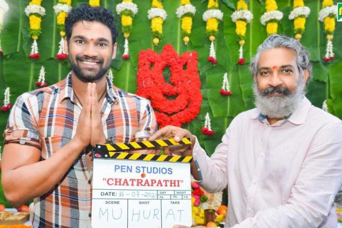 SS Rajamouli launches Bellamkonda Sreenivas's Chatrapathi Hindi remake