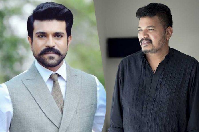 Shankar Ram charan movie RC15 story leaked