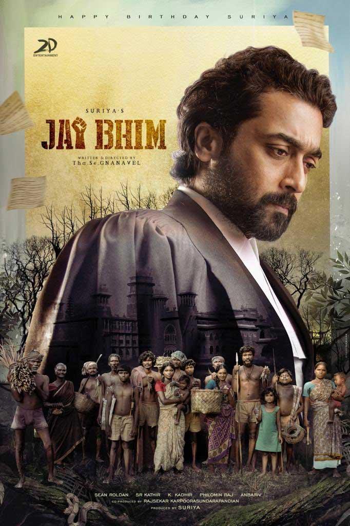 Suriya's Jai Bhim first-look poster out now