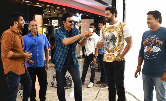 Venkatesh and Varun Tej Next F3 shooting resume from today