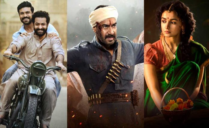 Which superstar's entry will be first in RRR movie