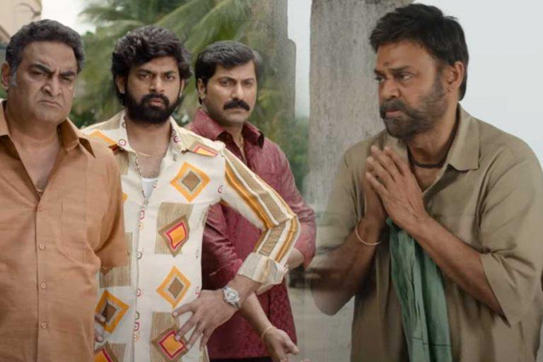 Venkatesh, Priyamani Starring Narappa trailer out